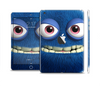 The Angry Blue Fury Monster Skin Set for the Apple iPad Mini 4