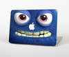 The Angry Blue Fury Monster Skin for the Apple MacBook Pro 13""