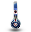 The Angry Blue Fury Monster Skin for the Beats by Dre Mixr Headphones