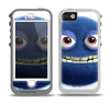 The Angry Blue Fury Monster Skin for the iPhone 5-5s OtterBox Preserver WaterProof Case