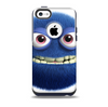 The Angry Blue Fury Monster Skin for the iPhone 5c OtterBox Commuter Case