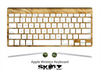 The Animal Furry Skin For The Apple Wireless Keyboard