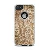 The Antique Floral Lace Pattern Apple iPhone 5-5s Otterbox Commuter Case Skin Set