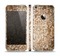 The Antique Floral Lace Pattern Skin Set for the Apple iPhone 5