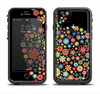 The Apple Icon Floral Collage Apple iPhone 6/6s Plus LifeProof Fre Case Skin Set