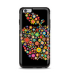 The Apple Icon Floral Collage Apple iPhone 6 Plus Otterbox Symmetry Case Skin Set