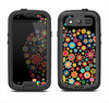 The Apple Icon Floral Collage Samsung Galaxy S4 LifeProof Nuud Case Skin Set