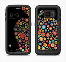 The Apple Icon Floral Collage Full Body Samsung Galaxy S6 LifeProof Fre Case Skin Kit