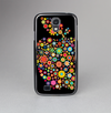 The Apple Icon Floral Collage Skin-Sert Case for the Samsung Galaxy S4