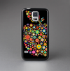 The Apple Icon Floral Collage Skin-Sert Case for the Samsung Galaxy S5