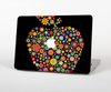 The Apple Icon Floral Collage Skin Set for the Apple MacBook Air 11""