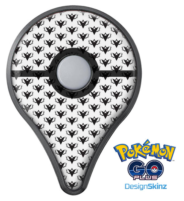 The Arrowhead Antlers All Over Pattern Pokémon GO Plus Vinyl Protective Decal Skin Kit