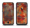 The Autumn Colored Geometric Pattern Apple iPhone 6/6s Plus LifeProof Fre Case Skin Set