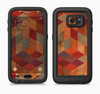 The Autumn Colored Geometric Pattern Full Body Samsung Galaxy S6 LifeProof Fre Case Skin Kit