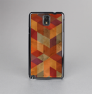 The Autumn Colored Geometric Pattern Skin-Sert Case for the Samsung Galaxy Note 3