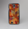 The Autumn Colored Geometric Pattern Skin-Sert Case for the Samsung Galaxy S4