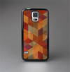 The Autumn Colored Geometric Pattern Skin-Sert Case for the Samsung Galaxy S5