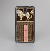 The Aztec Pink & Brown Lion Pattern Skin-Sert Case for the Samsung Galaxy Note 3