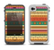 The Aztec Tribal Vintage Tan and Gold Pattern V6 Apple iPhone 4-4s LifeProof Fre Case Skin Set