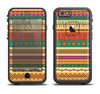 The Aztec Tribal Vintage Tan and Gold Pattern V6 Apple iPhone 6/6s Plus LifeProof Fre Case Skin Set