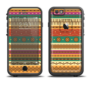 f88591334d6e3c The Aztec Tribal Vintage Tan and Gold Pattern V6 Apple iPhone 6 6s Plus  LifeProof