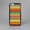 The Aztec Tribal Vintage Tan and Gold Pattern V6 Skin-Sert Case for the Apple iPhone 6 Plus