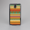 The Aztec Tribal Vintage Tan and Gold Pattern V6 Skin-Sert Case for the Samsung Galaxy Note 3