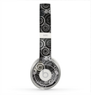 The Back & White Abstract Swirl Pattern Skin for the Beats by Dre Solo 2 Headphones