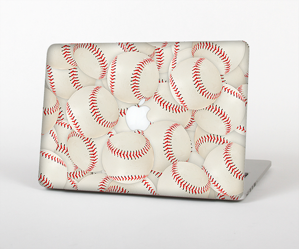 The Baseball Overlay Skin Set for the Apple MacBook Air 11""
