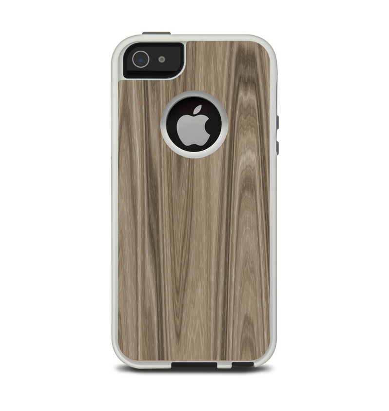 new arrival 02350 c9f45 The Beige Woodgrain Apple iPhone 5-5s Otterbox Commuter Case Skin Set