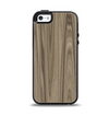 The Beige Woodgrain Apple iPhone 5-5s Otterbox Symmetry Case Skin Set