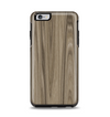 The Beige Woodgrain Apple iPhone 6 Plus Otterbox Symmetry Case Skin Set