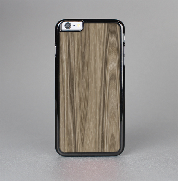 The Beige Woodgrain Skin-Sert Case for the Apple iPhone 6 Plus