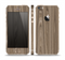 The Beige Woodgrain Skin Set for the Apple iPhone 5s