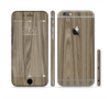 The Beige Woodgrain Sectioned Skin Series for the Apple iPhone 6 Plus