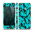The Butterfly BackGround Flat Skin Set for the Apple iPhone 5s
