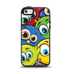 The Big-Eyed Highlighted Cartoon Birds Apple iPhone 5-5s Otterbox Symmetry Case Skin Set