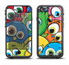 The Big-Eyed Highlighted Cartoon Birds Apple iPhone 6/6s Plus LifeProof Fre Case Skin Set