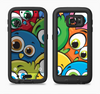 The Big-Eyed Highlighted Cartoon Birds Full Body Samsung Galaxy S6 LifeProof Fre Case Skin Kit
