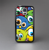 The Big-Eyed Highlighted Cartoon Birds Skin-Sert Case for the Samsung Galaxy S5