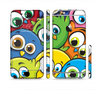 The Big-Eyed Highlighted Cartoon Birds Sectioned Skin Series for the Apple iPhone 6 Plus