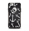 The Black Anchor Collage Apple iPhone 6 Otterbox Commuter Case Skin Set