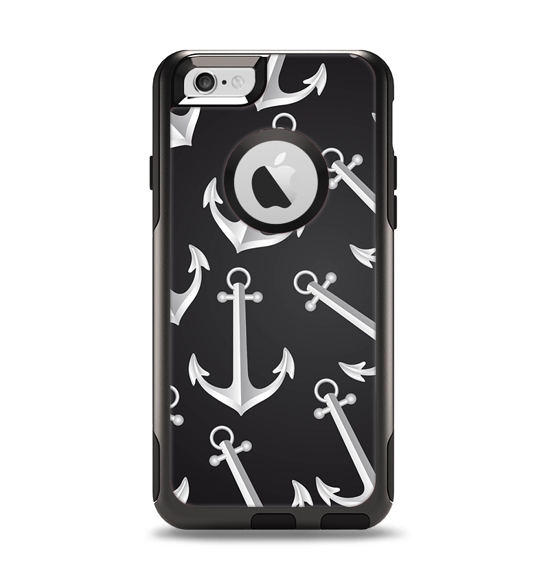 a8116b1515 The Black Anchor Collage Apple iPhone 6 Otterbox Commuter Case Skin Se -  DesignSkinz