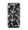 The Black Anchor Collage Apple iPhone 6 Plus Otterbox Symmetry Case Skin Set