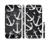 The Black Anchor Collage Sectioned Skin Series for the Apple iPhone 6 Plus