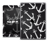 The Black Anchor Collage Skin for the iPad Air
