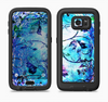 The Black & Bright Color Floral Pastel Full Body Samsung Galaxy S6 LifeProof Fre Case Skin Kit