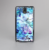 The Black & Bright Color Floral Pastel Skin-Sert Case for the Samsung Galaxy Note 3