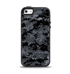 The Black Digital Camouflage Apple iPhone 5-5s Otterbox Symmetry Case Skin Set