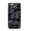 The Black Digital Camouflage Apple iPhone 6 Otterbox Symmetry Case Skin Set